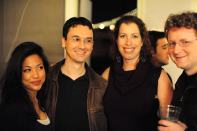 David Lanstein, Deena Blas, Gareth Watts, Morganne Beck