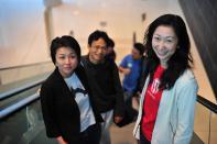 Edith Yeung, Hailin Wu, Bonnie Cheung