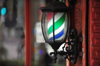 Barber shop lamp
