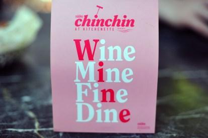 Wine / Mine / Fine / Dine