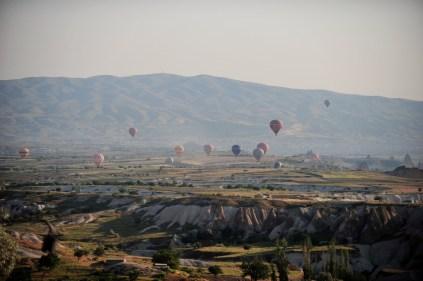 Balloons over Cappadocia