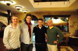 Matt Mullenweg, Austin Bisnow, Elliott Bisnow, Tim Ferriss