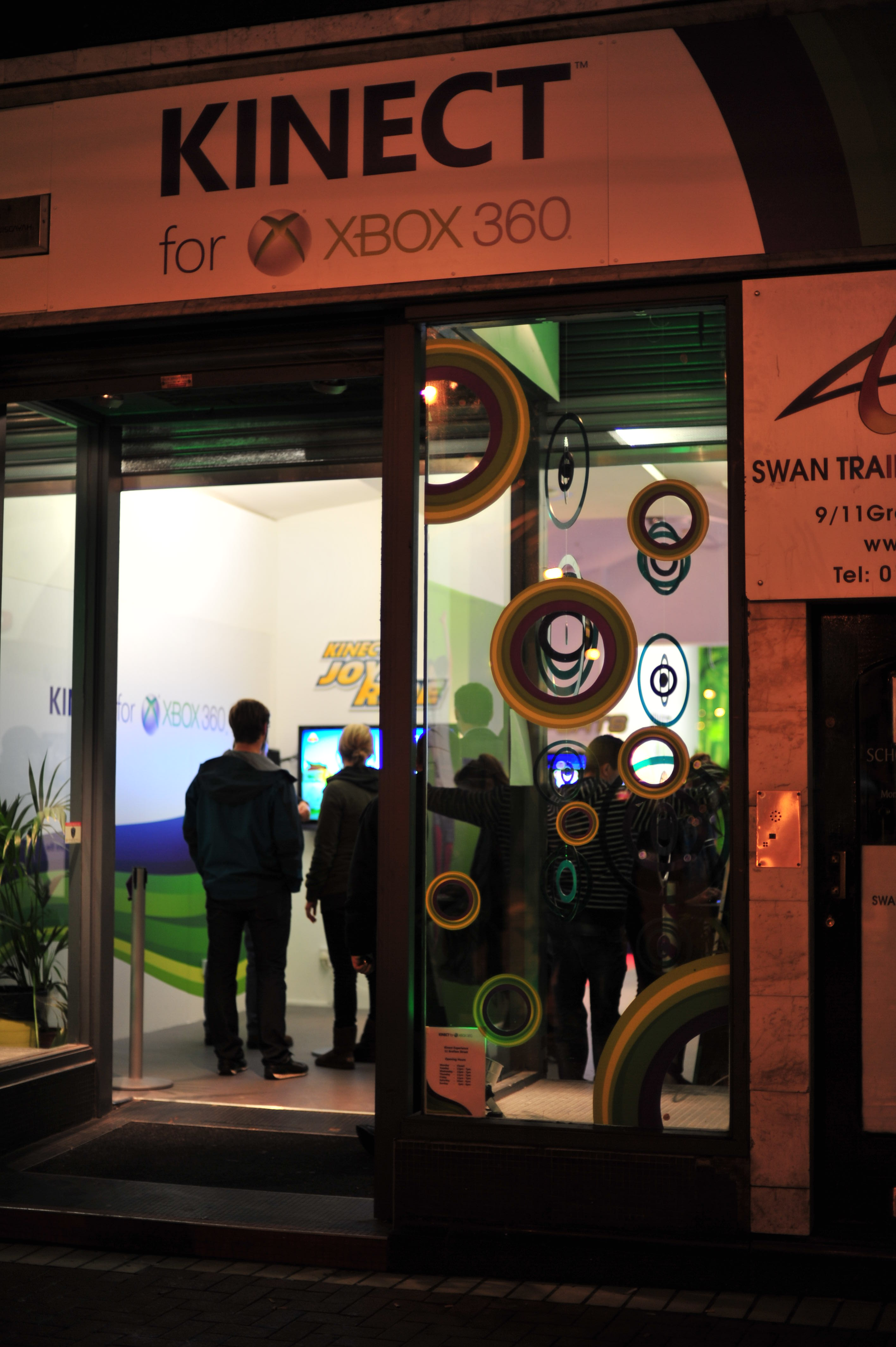 Xbox Kinect pop-up store