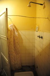The bathrooms were a little sparse.