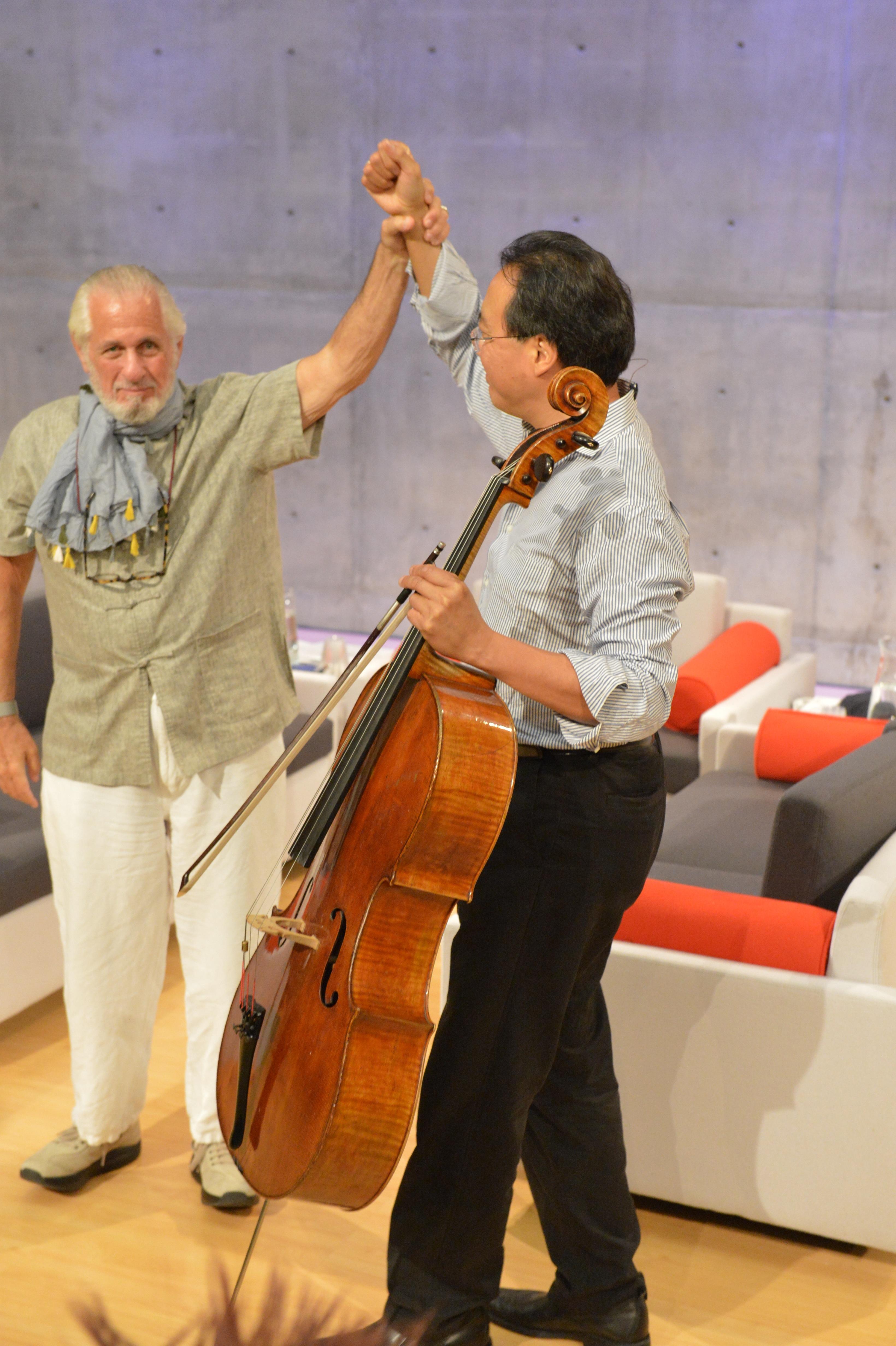Richard Saul Wurman, Yo-yo Ma