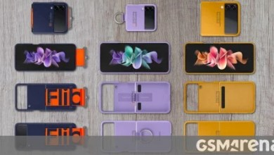 Photo of Official Samsung Galaxy Z Flip3 cases leak, show kooky design with belts and D-rings