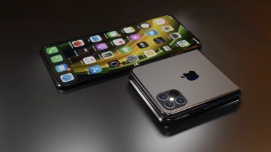 Photo of Apple patents a new foldable phone