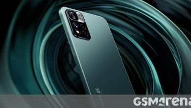 Photo of Redmi Note 11 Misty Forest color variant shown off in official teasers