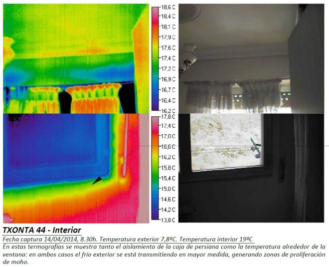 Termografía interior Txonta 44