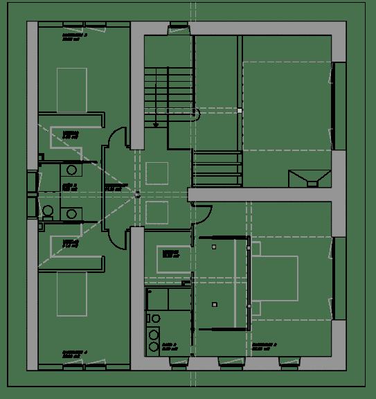 Caserio Egurbide - Planta Primera