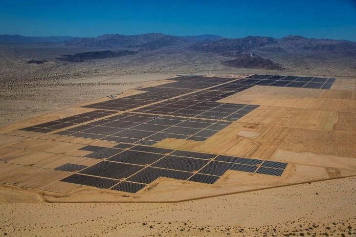 Desert Sunlightg Solar Farm. 550 MW. Estados Unidos