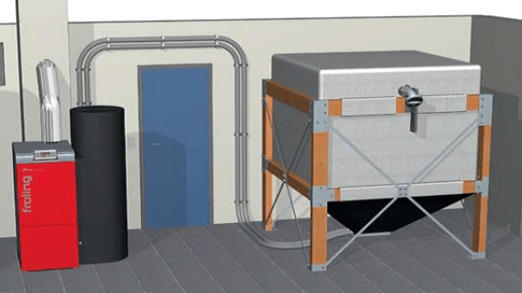 Biomasa instalacion