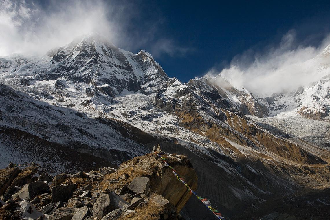Базов лагер на Анапурна, Непал