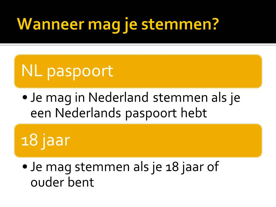 politiek in nederland digitaal klaslokaal