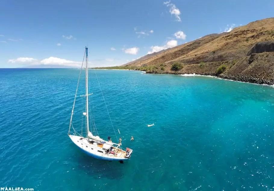 Maui sailing charter