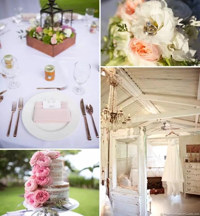 Maui wedding details