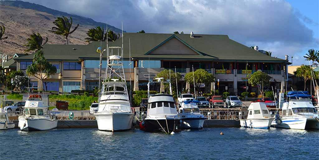 Maalaea Harbor - the windiest harbor in the USA