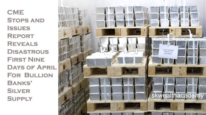 silver bars stored in warehouse