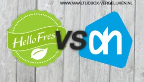 HelloFresh vs Allerhande Box