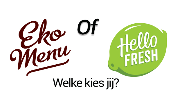 Ekomenu of HelloFresh - Welke maaltijdbox is beter?