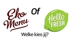 Ekomenu of HelloFresh