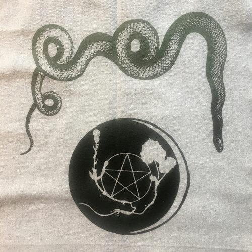 Slange logogrøn, sort