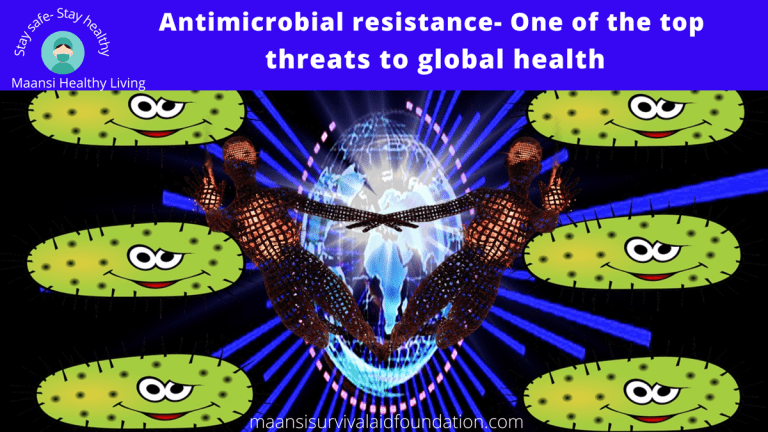 Antimicrobial resistance-one of the top threats to global health.