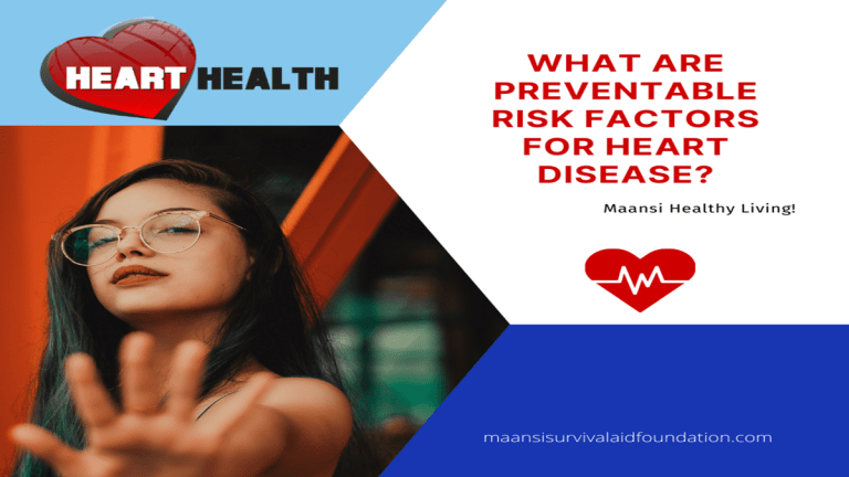 What are preventable risk factors for heart disease?