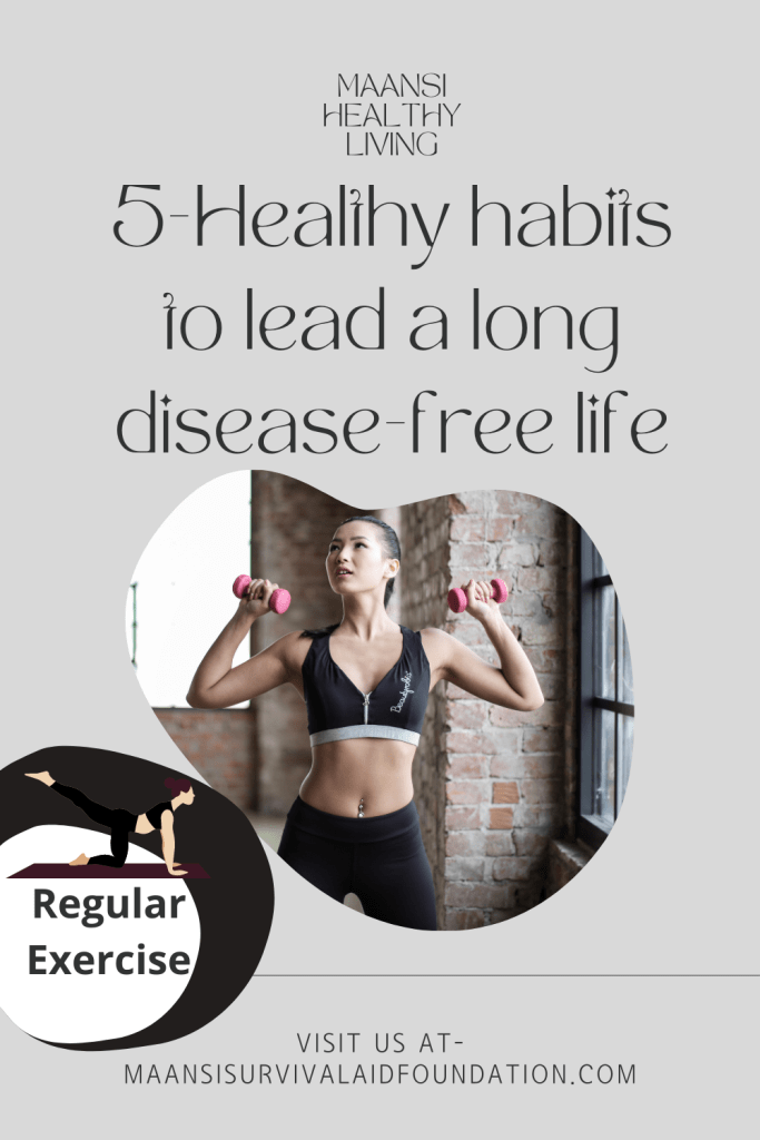 5-Healthy habits to lead a long disease-free life-Regular exercise