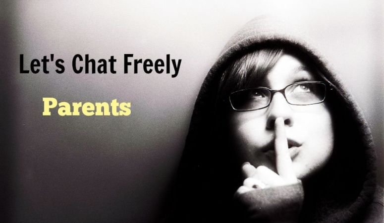 Let's Chat Freely With Talkative Parents