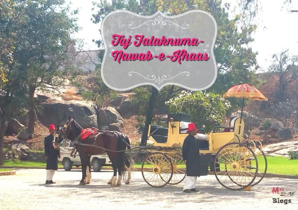 Taj Falaknuma Nawab e khaas cover