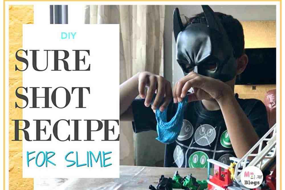 Sure Shot Recipe For Slime