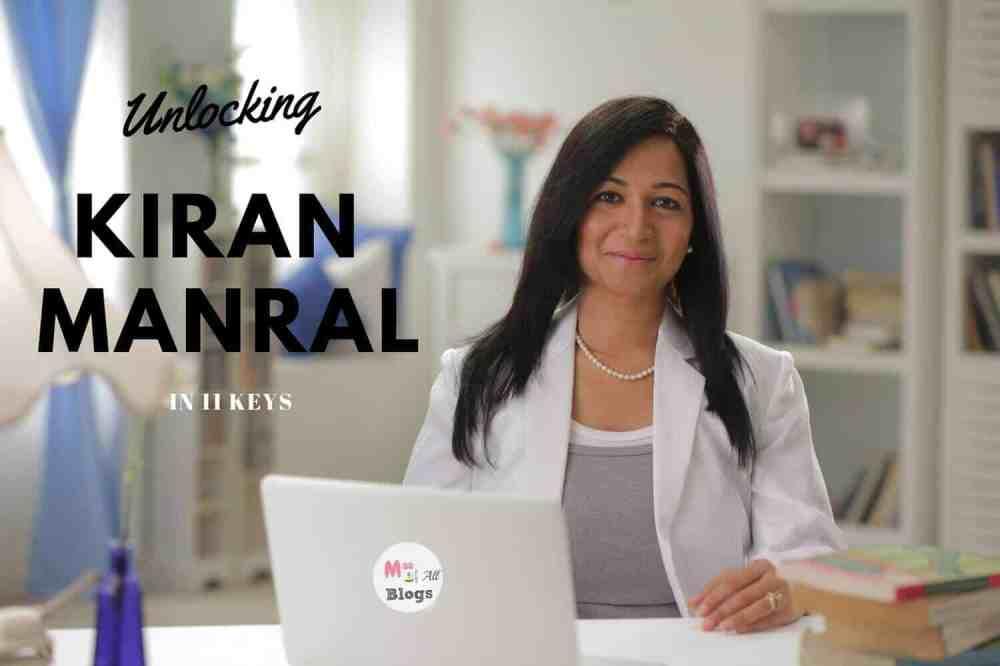 Unlocking Kiran Manral In 11 Keys