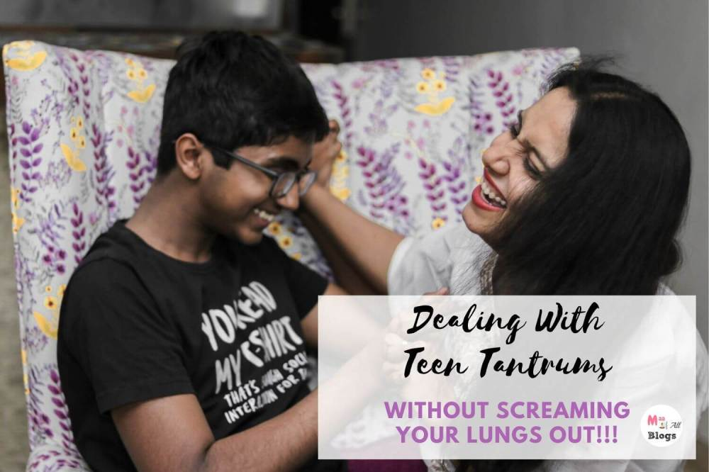 Dealing With Teen Tantrums Without Screaming Your Lungs Out