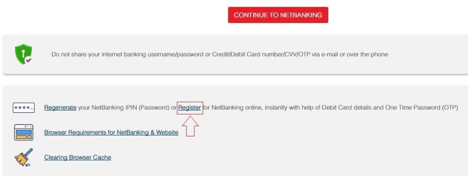 hdfc net banking login