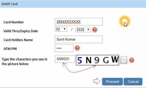 sbi net banking forgot password