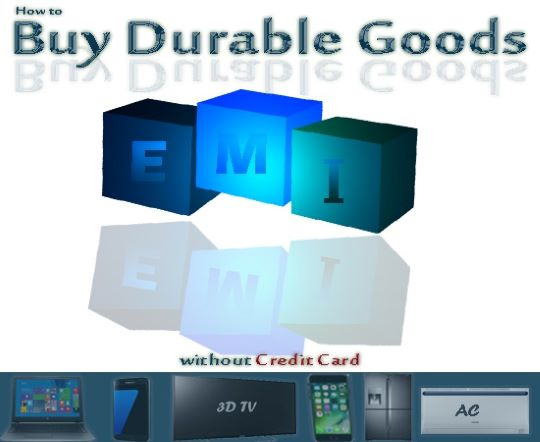 buy LED TV on EMI without credit card