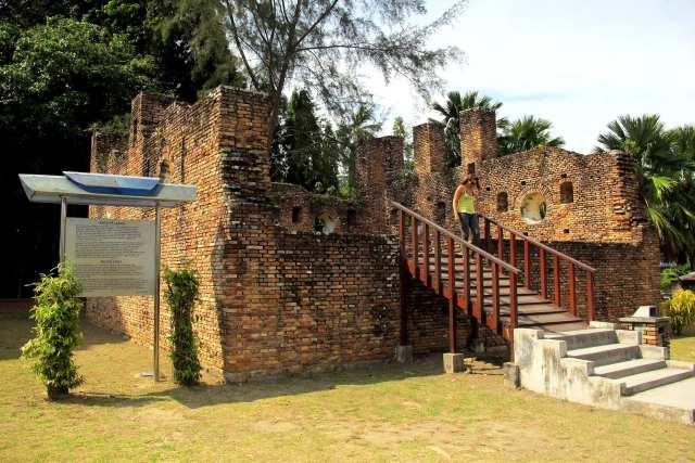 Dutch Fort Pangkor eiland - Malasie