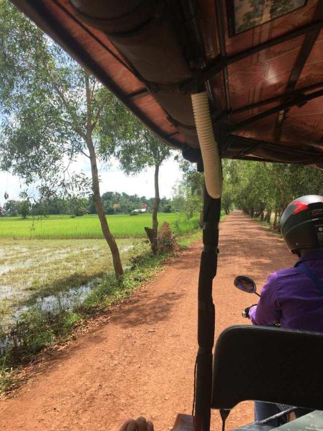 tempels in Angkor