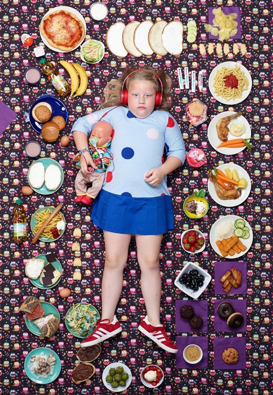 Greta, 7 jaar, Hamburg, Duitsland ©Gregg segal