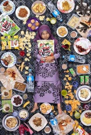 Nur Zarah Alta, 7 jaar, Kuala Lumpur ©Gregg Segal