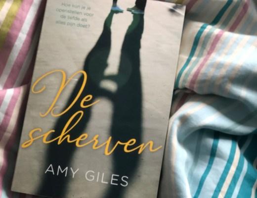 Blogtour De scherven – Amy Giles