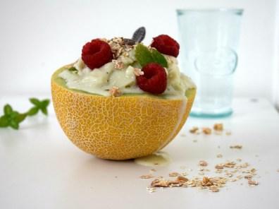 Meloen ijs