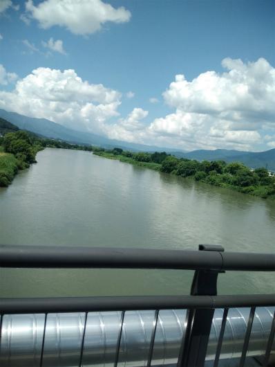 中央橋から千曲川