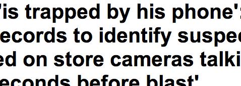 http://www.dailymail.co.uk/news/article-2310596/Boston-bombings-latest-FBI-use-phone-records-identify-suspect.html