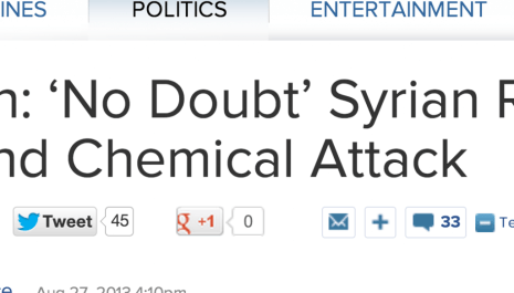 http://abcnews.go.com/blogs/politics/2013/08/biden-no-doubt-syrian-regime-behind-chemical-attack/