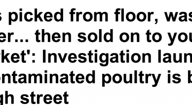 http://www.dailymail.co.uk/news/article-2703442/Chickens-picked-floor-washed-filthy-water-sold-supermarket-Investigation-launched-claims-contaminated-poultry-sold-high-street.html
