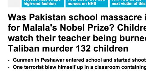 http://www.dailymail.co.uk/news/article-2875729/Up-20-dead-500-children-teachers-taken-hostage-Taliban-gunmen-storm-military-run-school-Pakistan.html