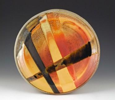Soda Fired Platter - MaashaClay Pottery