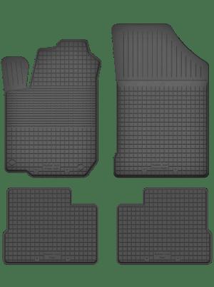 Hyundai i10 II (fra 2013) universal gummimåttesæt
